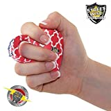 Streetwise Self-defense- Sting Ring 18,000,000 volts- Taser for women- Handheld Electroshock Weapon- Quatrefoil