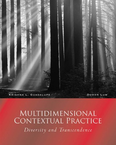 Download Multidimensional Contextual Practice: Diversity and Transcendence (Counseling Diverse Populations) Pdf