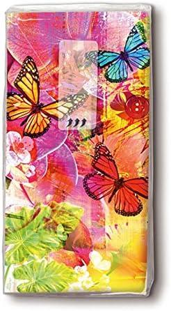 Motiv Taschentuch FSCMix 10 Stck. World of colours
