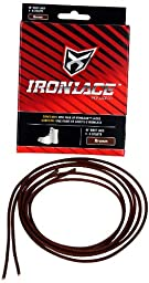 Ironlace Lace (1-Pair), Brown, 63-Inch