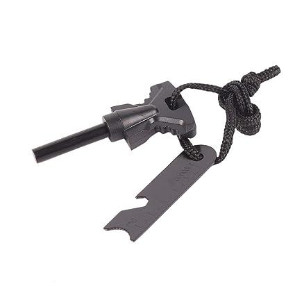 Portable Outdoor Survival Magnesium Flint Scraper Stick Fire Starter Lighter-Y Camping & Outdoor