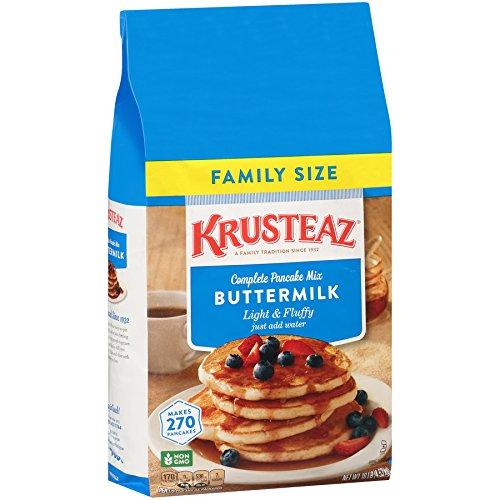 Pancake mix amazon krusteaz buttermilk complete pancake mix just add water 453kg reusable pouch ccuart Images