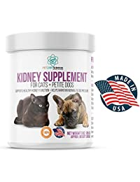 Petite Dog And Cat Kidney Renal Support Supplement -...