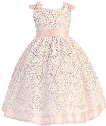 orange accent wedding dresses - 9