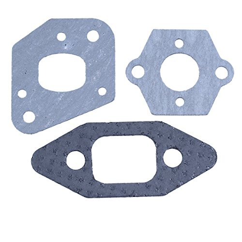 Haishine Carburetor Gasket Kit for Partner 350 351 352 370 390 POULAN 1975 2050 2150 2550 PP220 PP221 Gas Chainsaw Saws 530 06 96-08