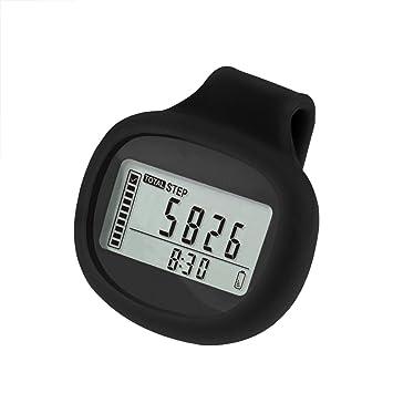 fixuk impermeable LCD 3d Sensor de movimiento deportes Podómetro paso caminar Tracker contador, 0.14 pounds