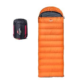 Naturehike 3 - 4 Estaciones Ligero Térmico Impermeable Sacos de Dormir Al Aire Libre para Camping Senderismo Trekking(Naranja): Amazon.es: Deportes y aire ...