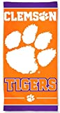 Clemson Tigers NCAA 30 X 60 Inch Beach Towel