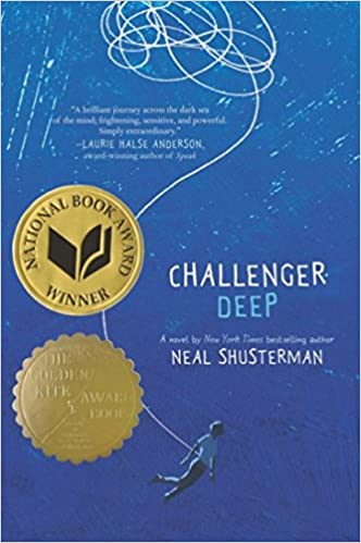 Image result for challenger deep by neal shusterman