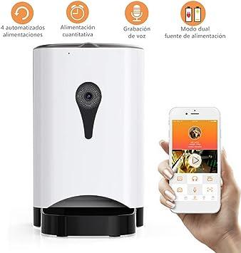 Febelle Alimentador automático Inteligente para Mascotas con ...