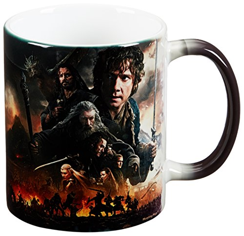 Journey Ceramic Mug - Morphing Mugs Hobbit The Battle of the Five Armies (Journey's End) Ceramic Mug, Black