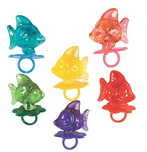Fish Ring Sucker Candy (1 dz) (Lollipop Favors)