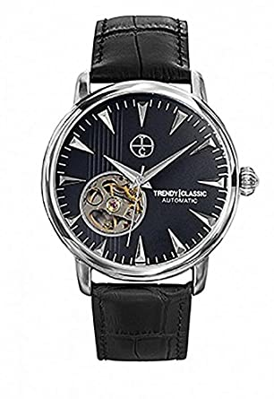 Trendy Classic Automatic – CC1021 – 02 – Automatikuhr – Armband Leder Schwarz