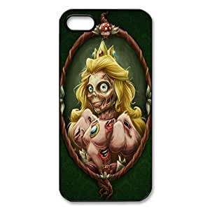 Custom Zombie Princess TPU Cases Protector Snap On Cover For Iphone 4s, iphone 4 Case