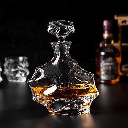 KANARS Emperor Whiskey Decanter And Glasses Set With Luxury Gift Box For Scotch + Bourbon + Liquor, 5-Piece, Original by KANARS (Image #6)
