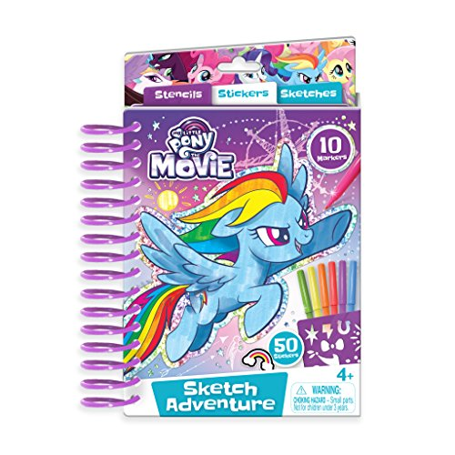 (My Little Pony Mini Sketch Pad Mini Sketch Pad)