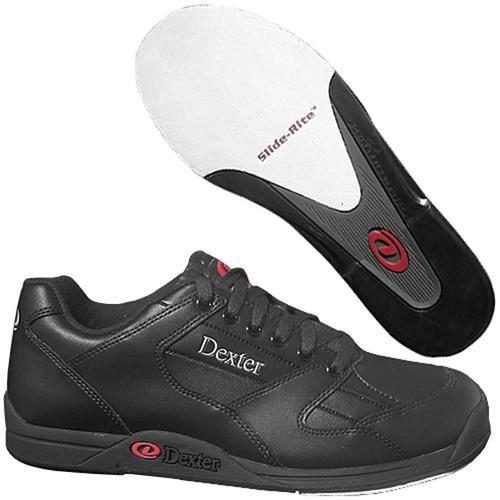 Dexter Ricky II Wide Width Bowling Shoes, Black, 7.5