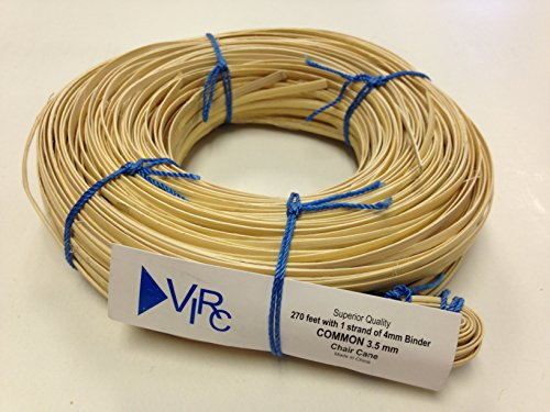 Chair Cane Common 3.5mm 270 ft coil with 1 strand of 4mm Binder Cane Cane Coil