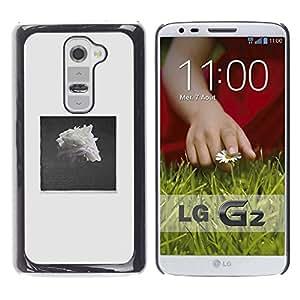For LG G2 / D800 / D802 / D802TA / D803 / VS980 / LS980 Case , Pile Black White Rose Art - Diseño Patrón Teléfono Caso Cubierta Case Bumper Duro Protección Case Cover Funda