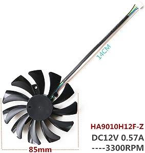 NBFAN GPU Cooler Fan HA9010H12F-Z Fan for GTX1060 VGA Gpu Video Card Fan Cooling Fan