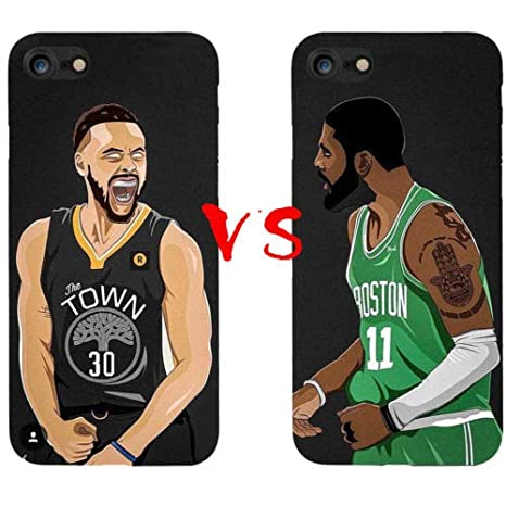 c26149d65 FidgetGear Kyrie Irving VS Stephen Curry Silicone Case iPhone X 6s/7 ...