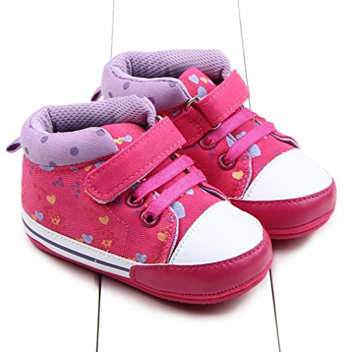 Babyschuhe Longra Baby Kleinkind Mädchen Kinder weichen Sohle Krippe Schuhe lauflernschuhe Baby Kleinkind Sneaker(0~ 18 Monate)