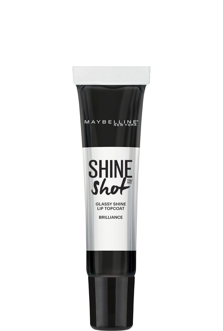 Maybelline New York Lip Studio Shine Shot Lip Topcoat, Clear Vinyl, 0.5 Fluid Ounce