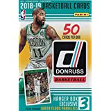 2018 2019 Donruss NBA Basketball Hanger Box of 50 Cards with EXCLUSIVE Green Flood Parallels Found Only in this Product with Possible Rookies and Stars