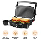 Best Panini Presses - Panini Maker, iSiLER 4 Slice Panini Press Grill Review