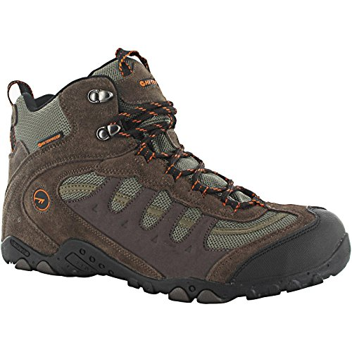 Chocolat Taupe Hi De Hauteur En tec Bottes Men Randonne Impermables Orange Penrith Mid PPqrXv