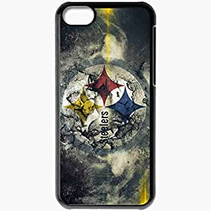 Personalized iPhone 5C Cell phone Case/Cover Skin 830 pittsburgh steelers 0 Black