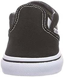 Vans Unisex Baby Classic Slip-On - Black - 4 Infant