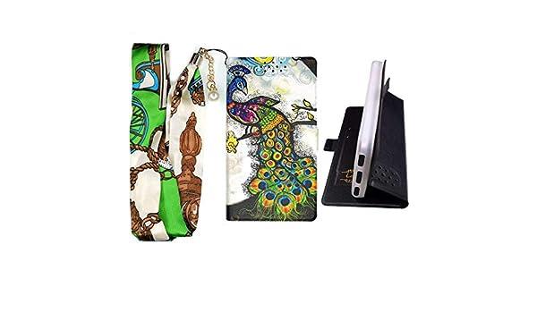 Lovewlb Funda para Qilive Smartphone Q8 882553 6 Pouces Funda Flip ...
