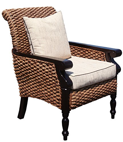 Water Hyacinth Milan Lazy Chair Made By Chic Teak