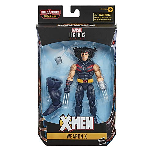 Hasbro Marvel Legends Series 6-inch Collectible Weapon X Action Figure Toy X-Men: Age of Apocalypse Collection