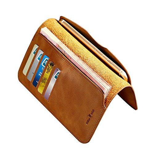 7x4inch Bloqueo Carteras Dinero Tarjeta Protector Viaje Hombres A Cuero Carteras Crédito Genuino Caso Excelente B 18x10cm Rfid qdvRZwSw