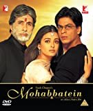 Mohabbatein Bollywood DVD With English Subtitles