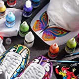 Castle Art Supplies 24 3D Fabric Paints Set for