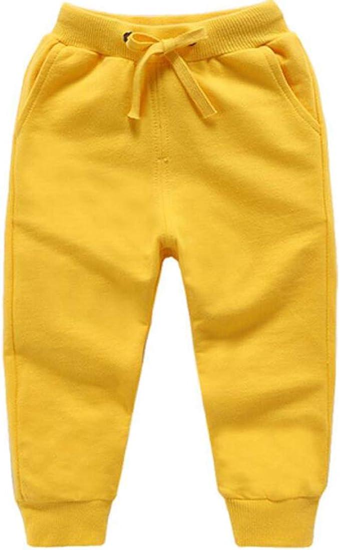 Ruth Wang Niño Color Sólido Escuela Pantalones Largos Bebe Jogging ...
