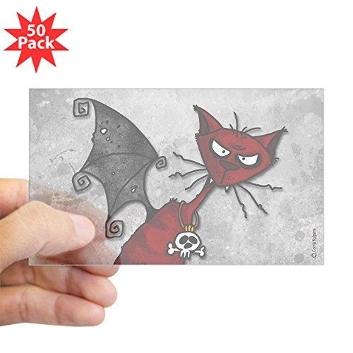 CafePress - Doom Kitty Rectangle Sticker 50 Pk) - Sticker (Rectangle 50 (Doom Kitty)