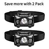 Best Rechargeable Headlamps - 2 Pack of Rechargeable Headlamp, 500 Lumens White Review