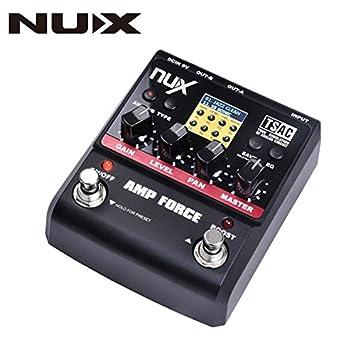 Frontier NUX amplificador de guitarra efectos de distorsión de la fuerza del pedal simulador de modelado