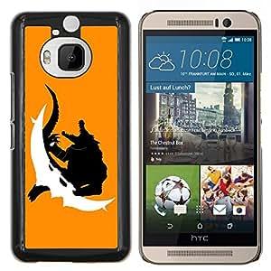 EJOOY---Cubierta de la caja de protección para la piel dura ** HTC One M9Plus M9+ M9 Plus ** --Monster cocodrilo