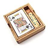 Playing Cards Box, Wooden Game Wood Toy, Wood Puzzle, Kids Toy, Kids Puzzle, 100% Handmade This is a Playing Cards Box, Wooden Game, brilliant design with high quality wood material, made with neatness. You, your kids and your family will hav...