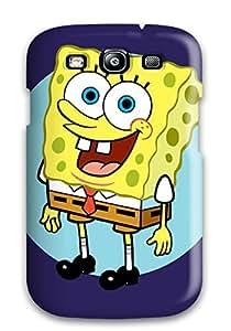 New Design Shatterproof DdiKuws9693lDRay Case For Galaxy S3 (spongebob)