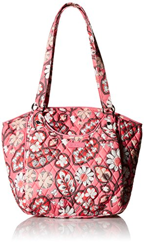 Vera Bradley Glenna 2.0 Shoulder Bag, Blush Pink, One Size (Bag Pink Microfiber)