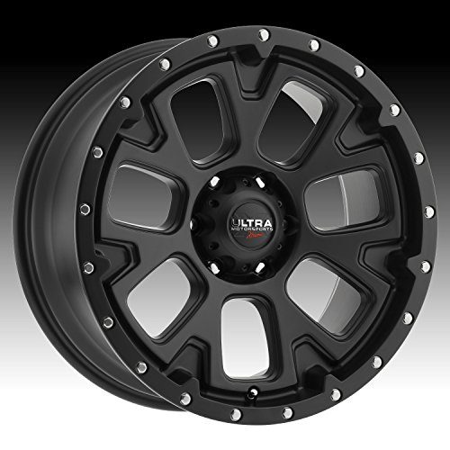 Ultra 109SB X109 Xtreme 20x9 5x139.7 +18mm Satin Black Wheel Rim - Off Road Rims