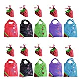 Delicol Clourful Reusable Shopping Eco Bags,pack of 10