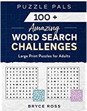 100+ Amazing Word Search Challenges: Large Print Puzzles For Adults