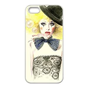 D-PAFD Diy Clown Selling Hard Back Case for Iphone 5 5g 5s
